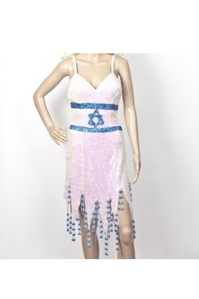 Israel flag dress